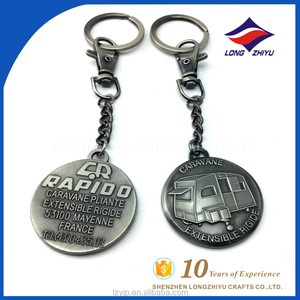 Promotional Gift Wholesale Key Ring Hoop Maker Stylish Key Rings
