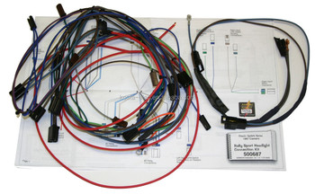 67 camaro rs front headlight wiring harness kit buy headlight wiring harness headlight. Black Bedroom Furniture Sets. Home Design Ideas