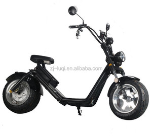 2018 LUQI TOP 1 Selling Big Tire LUQI Electric Scooter 1200w citycoco for EU Market
