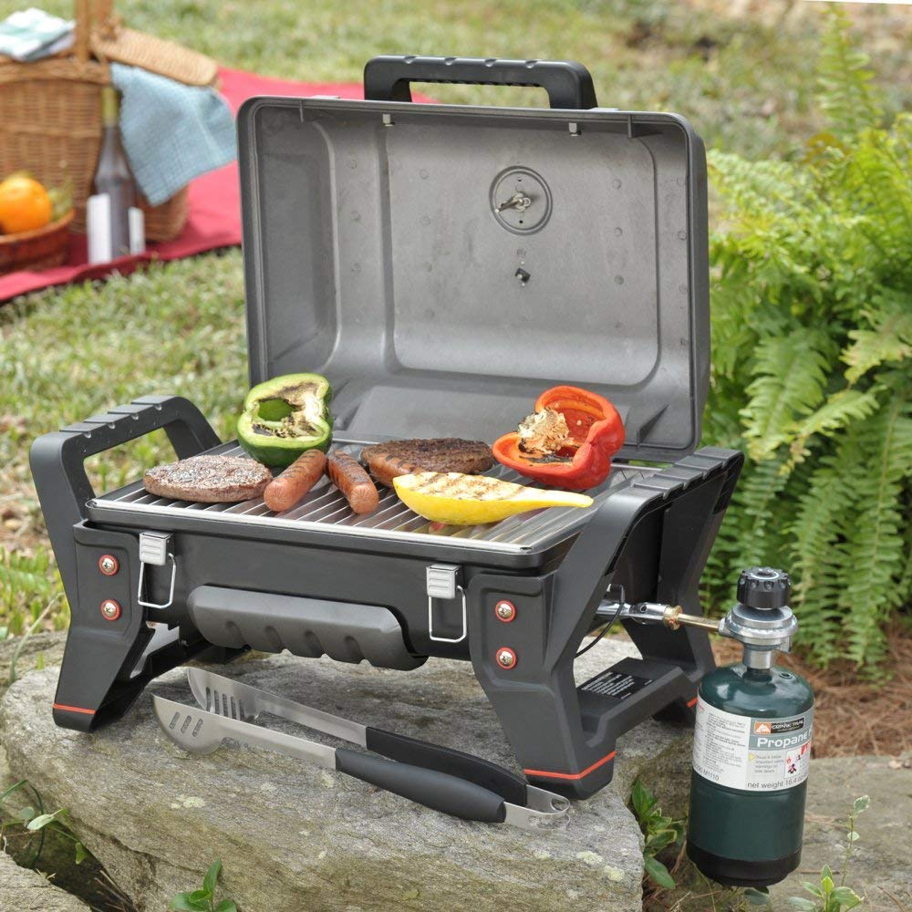 d25d3ed2f8acf7 Get Quotations · Highest Rated Best Selling Small Portable Inexpensive  Table Top Camping Picnic Boating Stainless Steel Propane Gas