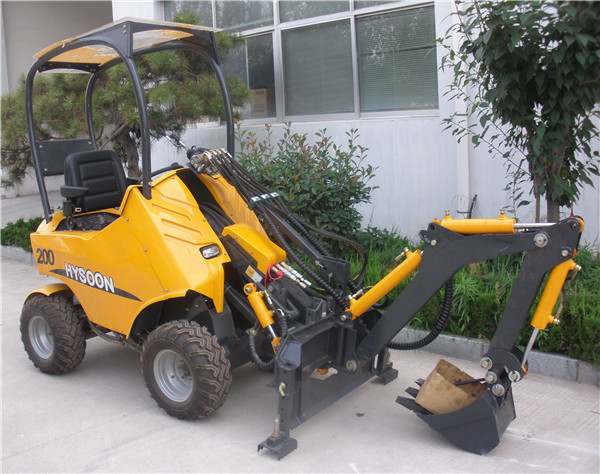 China Ce Certificated Small Garden Tractor Loader Backhoe