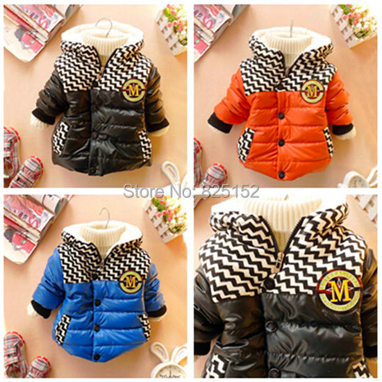 Spring Autumn Newborn Children s Warm Winter Hooded coats and jackets for children kids jackets coats