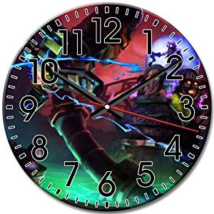 Frameless Disney Epic Mickey Arabic Numbers New Style Round Wall Clock Home Quiet 10 Inch / 25 cm Diameter