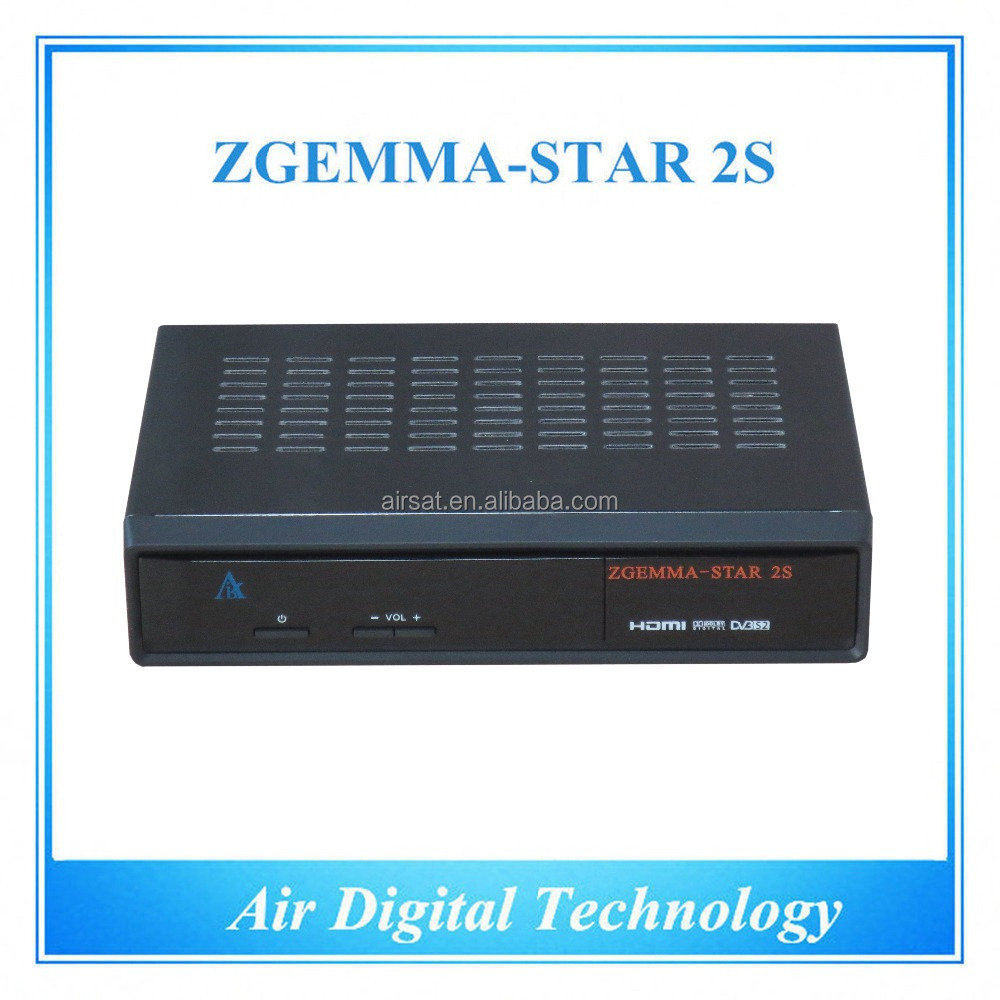 <strong>HD</strong> DVB S DVB S2 twin tuner <strong>satellite</strong> tv <strong>receiver</strong> <strong>FTA</strong> with IPTV Zgemma star 2S