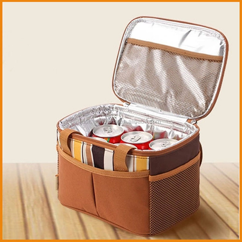 wholesale thermal insulated cooler lunch bag insulating effect cooler bag