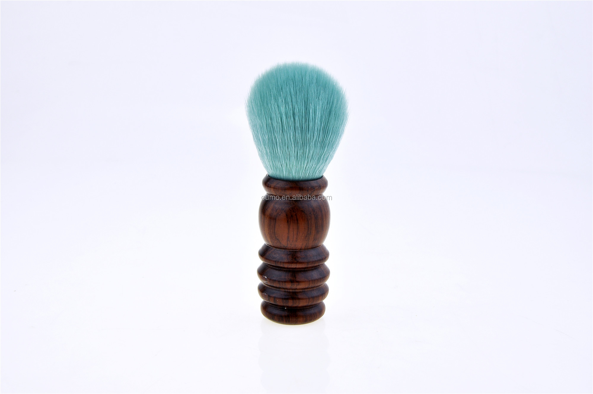 Special shape wood handle synthetic hair shaving brushes