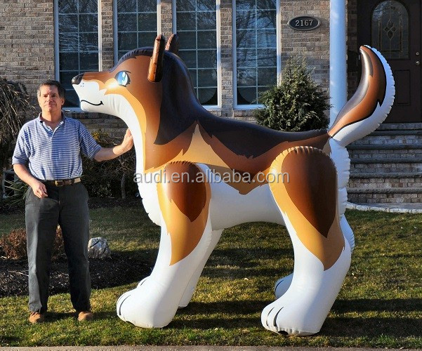 inflatable inflatable wolf/inflatable replica