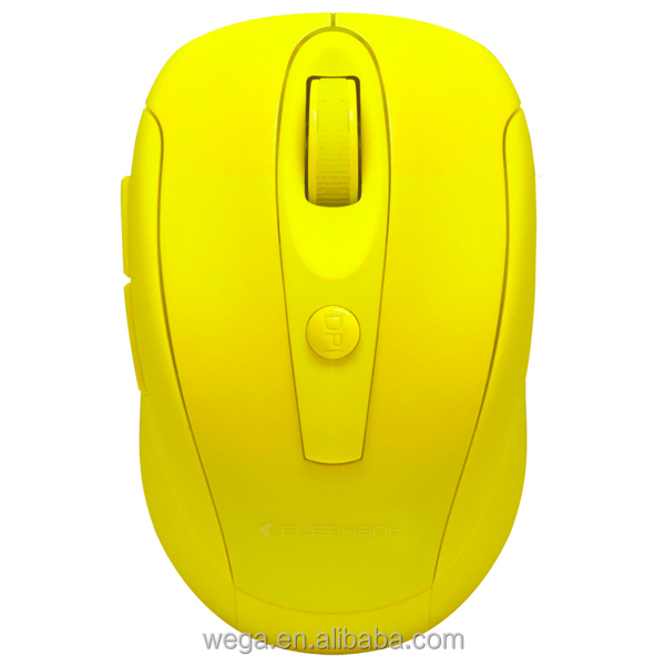 electronics peripherals custom logo simple classic 2000/2400 dpi nice colors silent buttons blue light wireless mouse