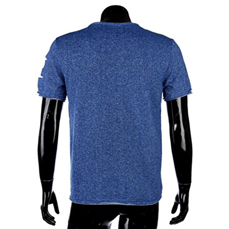 New style 100% cotton blank custom slim fit short sleeve mens t shirt