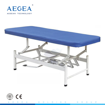 AG-ECC08 approved portable blue examination medical massage couch