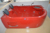 New modern style hot red acrylic sexy japanese massage tub