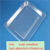 food tray blister fish tray plastic lid
