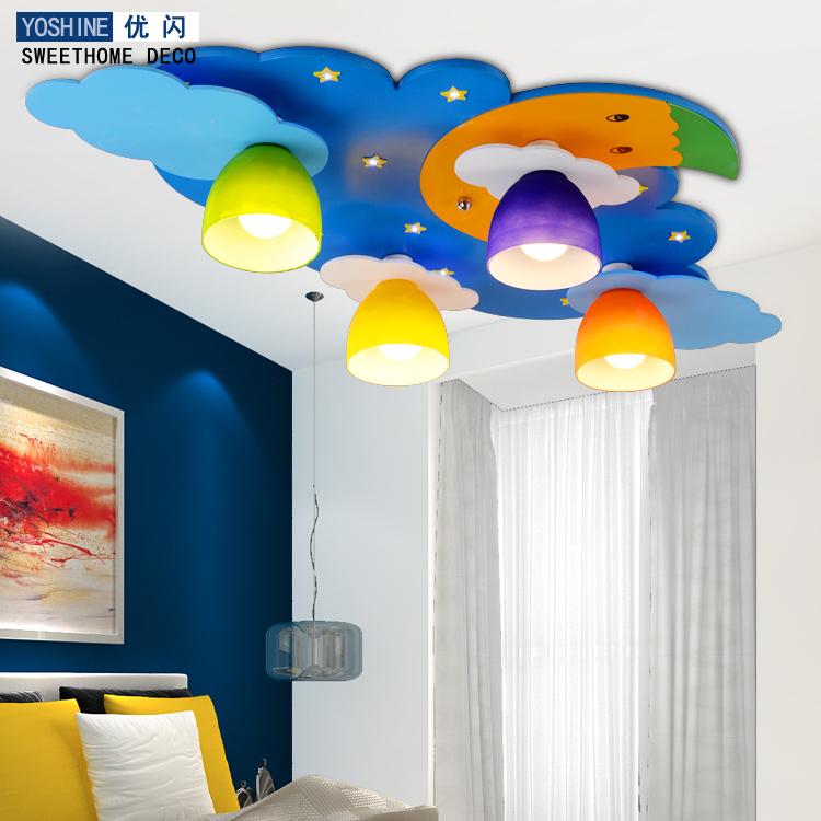 Excellent Creative Flash LED Ceiling Lights Children