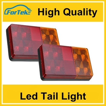 Factory Wholesale 12led Tinted Tail Lights Custom Tail Light Assembly With  High Quality