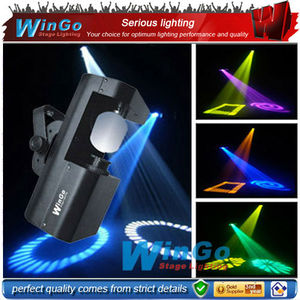 60w rotating gobo led scanner professional dj indoor stage lighting effect