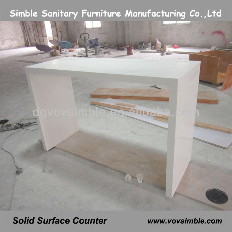 Simbel superficie sólida de acrílico barra de bar/encimera de corian ...