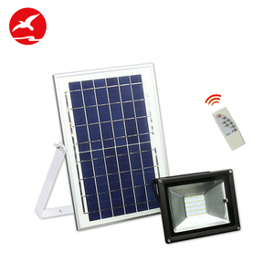 Super bright Aluminium Alloy Body 10w 20w 30w 40w 50w solar led flood light
