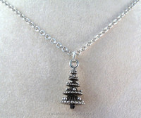 Best selling new item fasion christmas tree necklace jewelry
