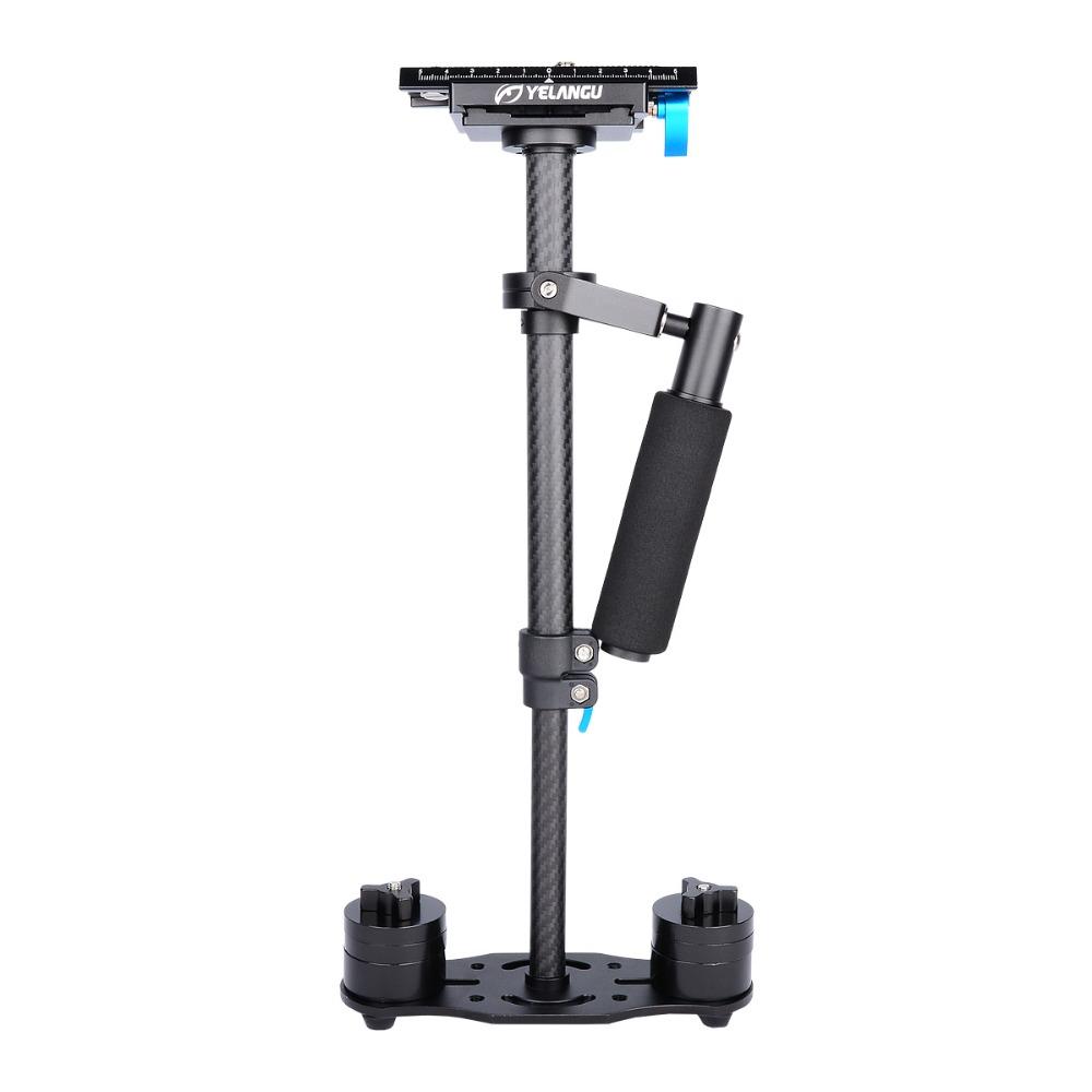 YELANGU S40T Carbon Fiber Mini Kamera Video Kamera Handheld Stabilisator für DSLR Kamera und Smartphone