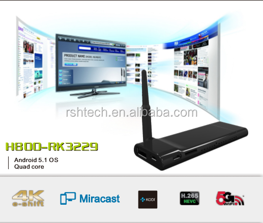 <strong>HDMI</strong> Android <strong>TV</strong> stick ,Dlna Miracast airplay allsharecast function supported, with andriod 5.0 OS