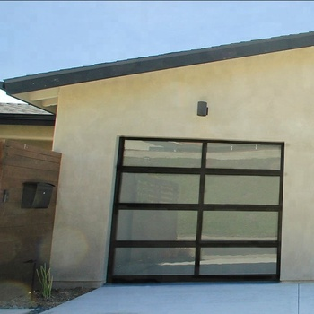 Modern Glass Garage Doors With Pedestrian Door Prices Buy Garage