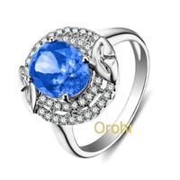 Classic Design Oval Citrine Diamond Ring,Diamond Jewellery Design ...