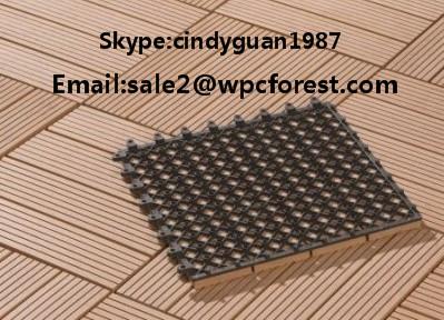 Badkamer Vloertegels Antislip : Wpc anti slip buiten vloertegels 30*30cm hout kunststof composiet