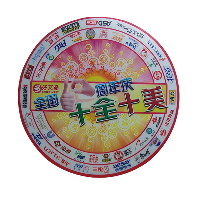 shenzhen china quality advertising customized 2d pvc coaster
