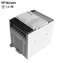 Wecon 14 IO micro automation control unit plc programmer with DC 24V