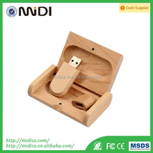 Factory Price Credit Card Shape USB Memory Stick Wooden Credit Card USB Flash New Customized Design