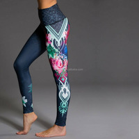 custom private label fitness clothing sexy women yoga wear sports leggings wholesale gym clothing/active wear