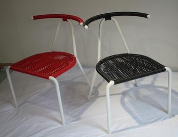 Colorful Plastic Round Rattan Acapulco Chair DW AC052