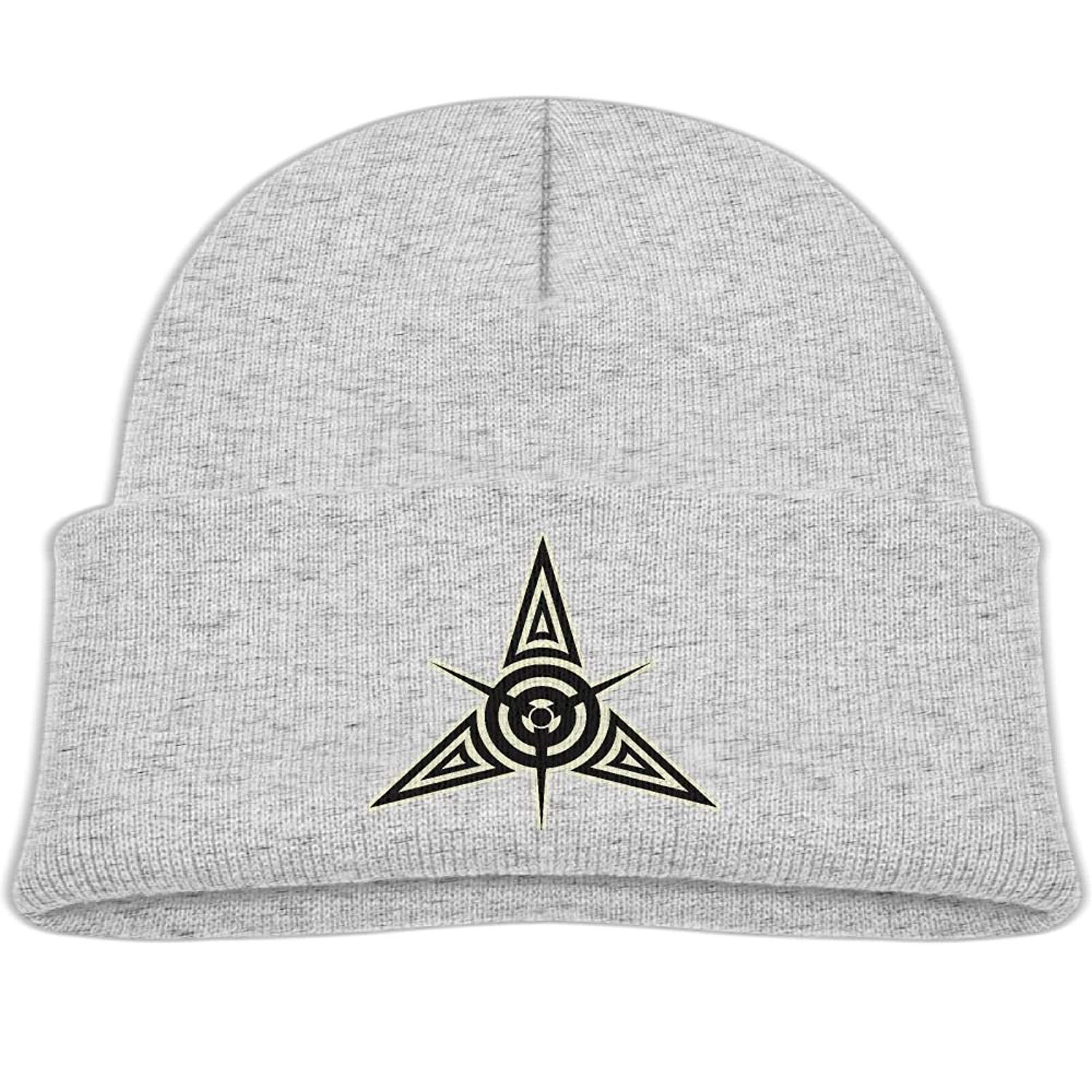 d357ce3d6dc Get Quotations · Raining Sunlight Kids Humor Airplane Pro-peller Tribal  Tattoo Casual Flexible Winter Knit Hats