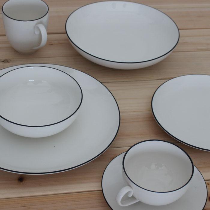 keramik geschirr set western stil bone china geschirr set denby5 st ck set geschirr becher in. Black Bedroom Furniture Sets. Home Design Ideas