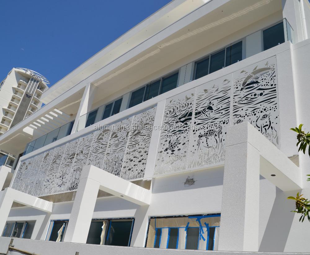 Tuin decor laser cut panelen outdoor metalen privacy screen ...