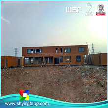 The whole network lowest container homes prefabricated with good quality