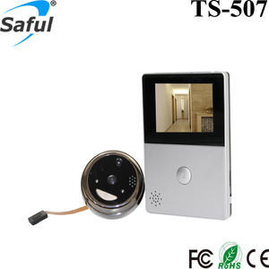 2017 Front Door Digital Wireless Wifi Peephole Camera Door Viewers with Night Vision