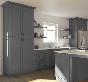 huge selection of 0345d 21938 Gray Shaker Modern Modular Wood Kitchen Cabinets, View affordable modern  kitchen cabinets, OEM Product Details from Fuzhou Cabinext Furniture ...