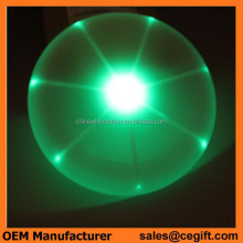 Diameter 15cm,20cm,25cm LED frisbee Flashing flying disc custom ultimate frisbee discs 175g