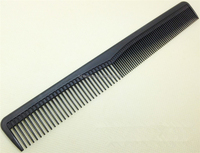 Carbon Fiber Green White Anti-static Comb Professionals Salon Hair Styling Hairdressing Barbers Combs