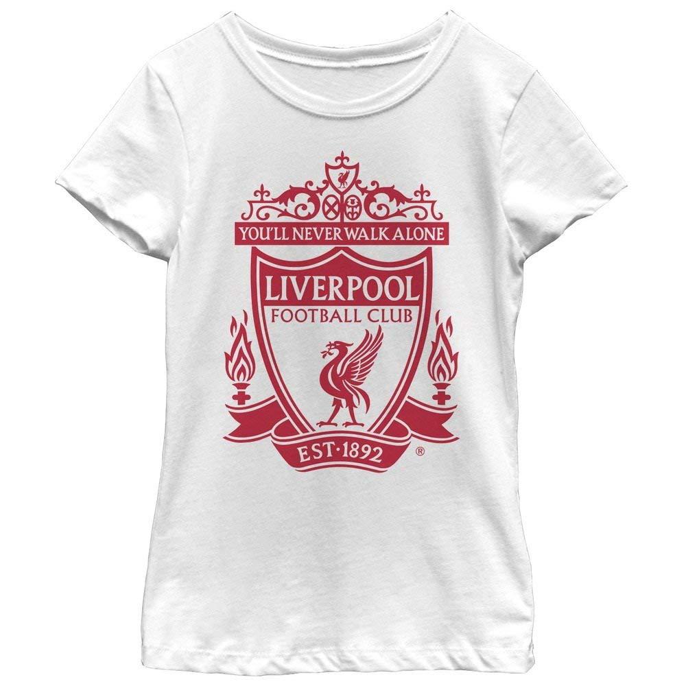 09f2ea046 Get Quotations · Liverpool Football Club Girls  Classic Bird Shield 1892 T- Shirt