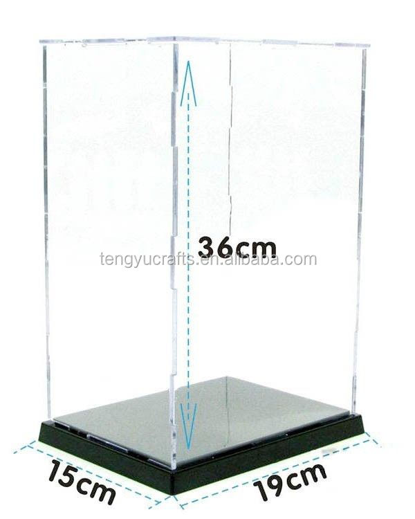 Wholesale lucid oblong fish tank holder acrylic display stand for electrify