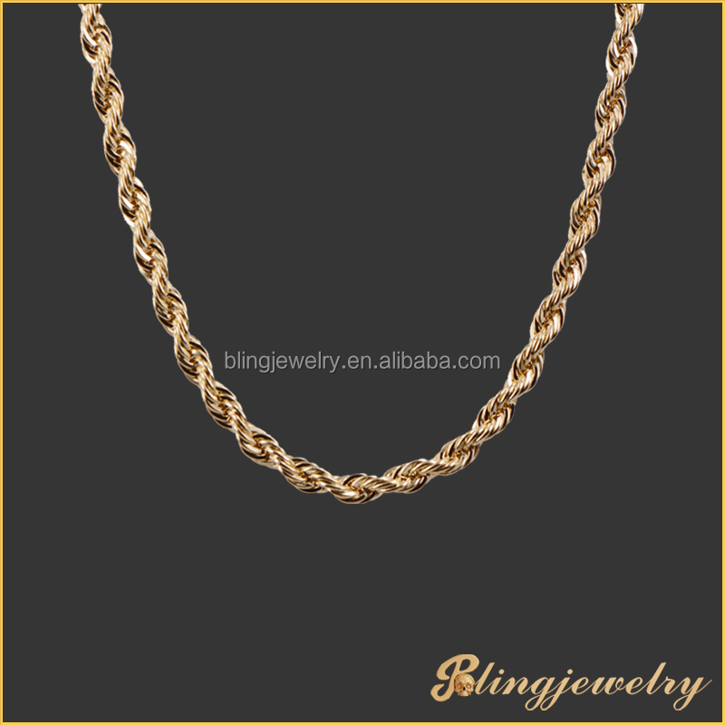 High Quality 18k Gold Round Box Chain New Gold Chain Design For ...
