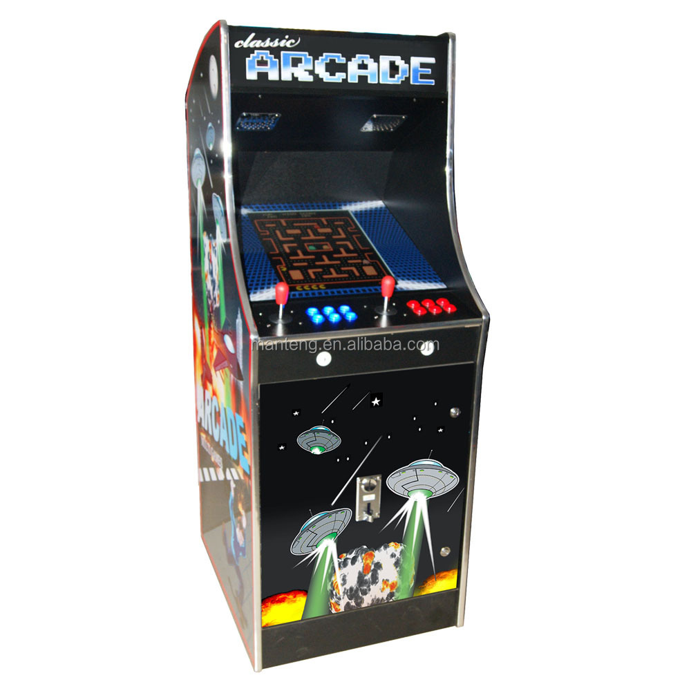 New Ms Pac Man Galaga Multicade Arcade Cabinet Empty - Buy Upright ...