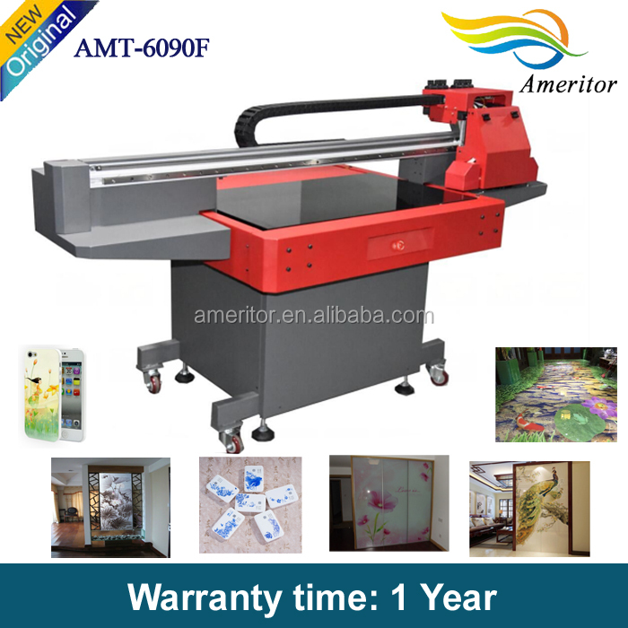 Commercial UV digital ceramic floor printer 3d full color glass board printing machine, 3 in 1 UV printer