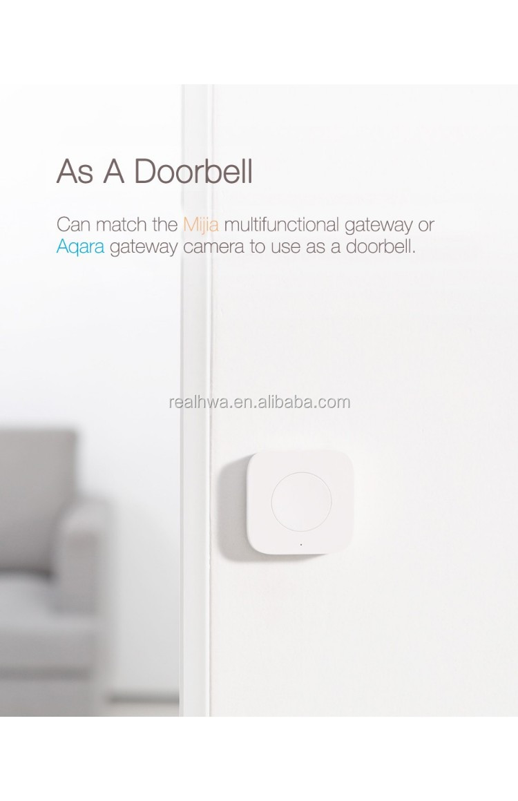 New Xiaomi Aqara Smart Wireless Switch Mini With Gyro House
