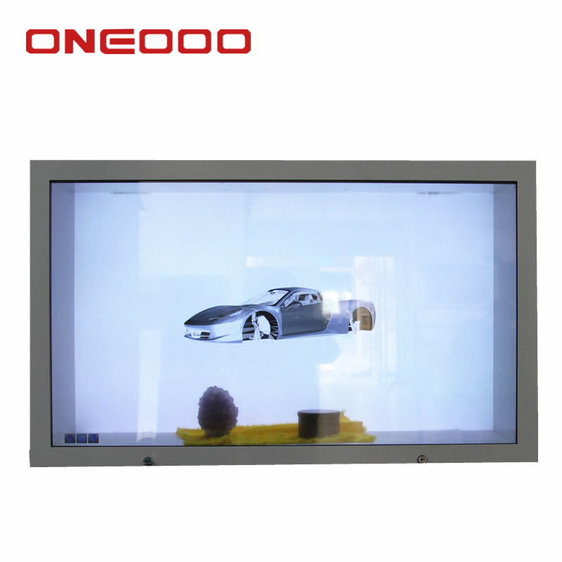 Guangzhou customized design transparent display price