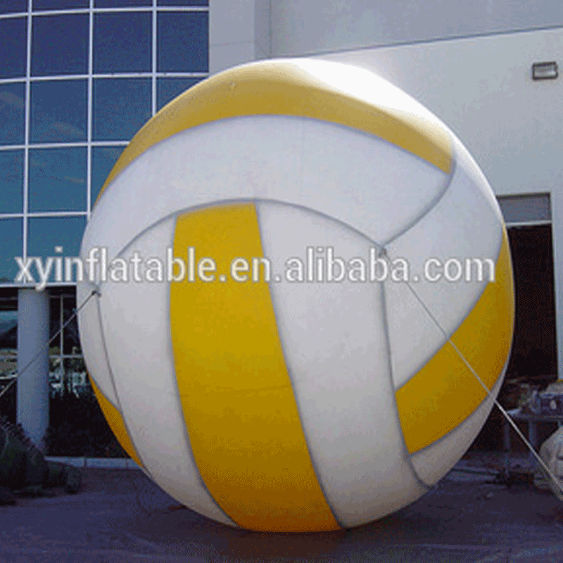 2017 hot selling giant inflatable volleyball for advertising