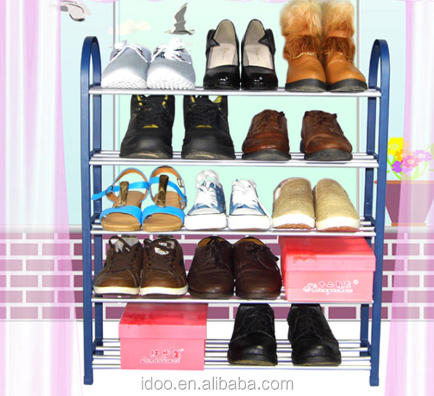Easy Moving Free Standing Cubes Diy Plastic Shoe Rack