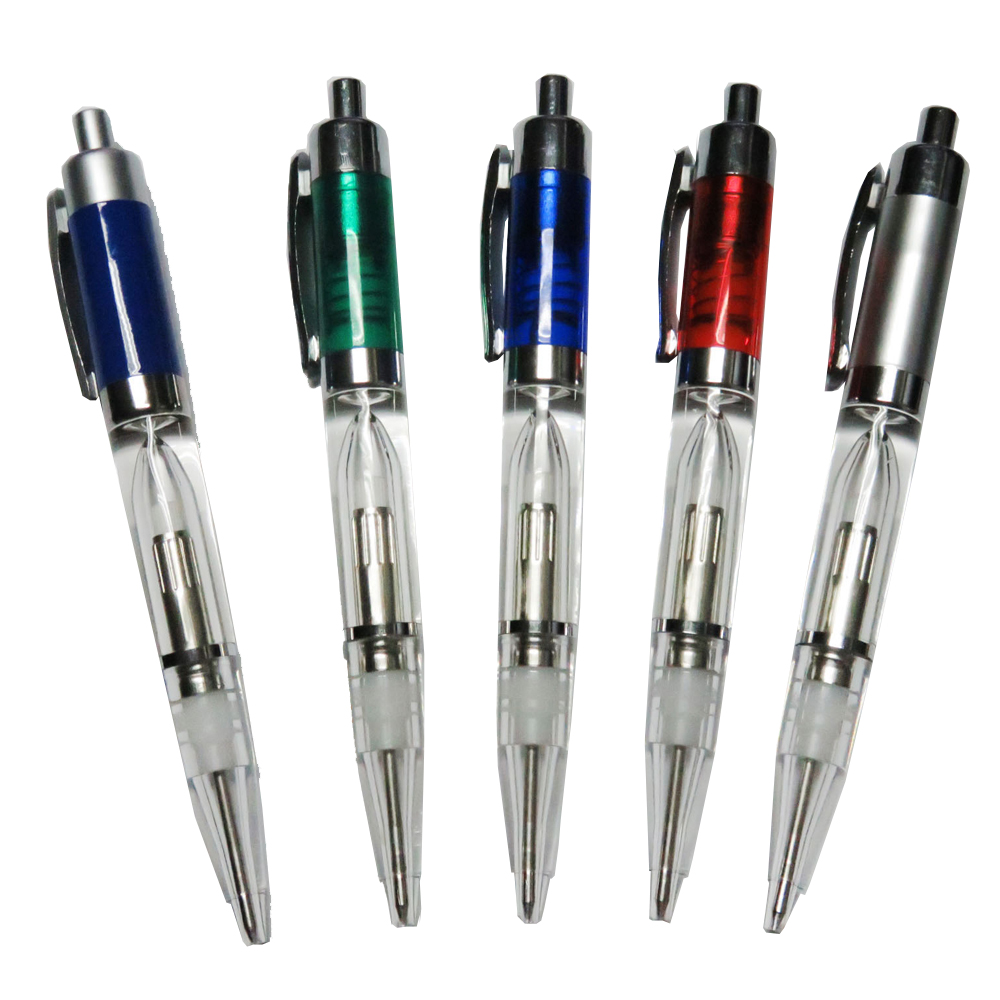 LED pen Plastic light ballpoint pen cheap LED light gift pens for best promotional gift items
